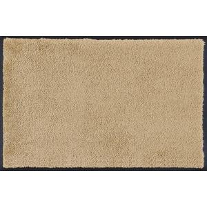wash+dry Fußmatte, Sahara 50x75 cm, innen und außen, waschbar