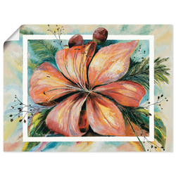 Artland Wandbild Freesien Fantasie I, Blumen (1 Stück) 40 cm x 30 cm
