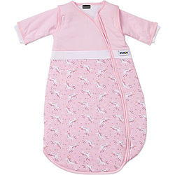 Schlafsack Bubou, rosa / Einhorn, Gr. 90 cm