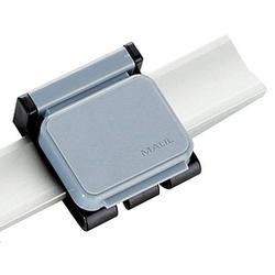 10 MAUL V Magnetclips für Planhalter grau