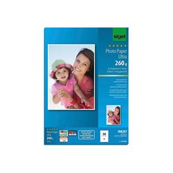 50 Blatt Ultra Photopapier 260g glossy