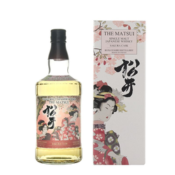 The Matsui Single Malt Sakura Cask 0,7L (48% Vol.)
