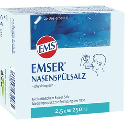 EMSER Nasenspülsalz physiologisch Btl. 20 St