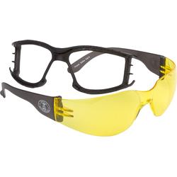 Modeka Dallas Plus, Brille - Neon-Gelb