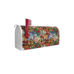 banjado Briefkasten US Mailbox Motiv Funky Town