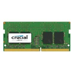 Crucial RAM DDR4 8GB 2400 PC4-19200 Speichertyp: SO-DIMM DDR4-RAM Größe: 8 GB Speichergeschwindigkeit: 2400Mhz Anzahl Speicherchips: 8 PN: C8FAD1 (C8FAD1)