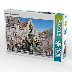 Leipzig - Siegesdenkmal Lege-Größe 64 x 48 cm Foto-Puzzle Bild von André Tetsch Puzzle