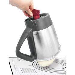 Leckerhelfer - automatisch Lecker Küchenhelfer-Set Teigdreher - Smart/Innovativ - Teiglöser - passend für Thermomix® TM5/TM6, (1-tlg) rot