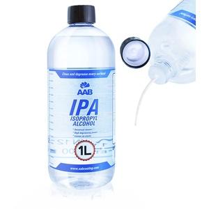 AABCOOLING IPA 1L - Isopropylalkohol, Universelles Cleaner Gelnägel, Reinigungsalkohol, Fetten, Ölen Alkohol Reiniger, Isopropanol Entfetter in Einer Großen Flasche, Sehr Effizient Entferner