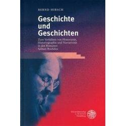 Geschichte und Geschichten als Buch von Bernd Hirsch