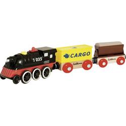 Eichhorn Bahn, E-Lok mit Wagon