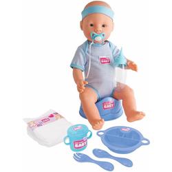 SIMBA Babypuppe New Born Baby (9-tlg)