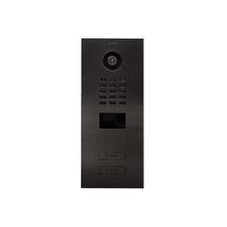 DoorBird DoorBird D2102V Video-Türstation V4A Edelstahl Titan-Optik 2 Klingeltaster Smart Home Türklingel (Edelstahl)