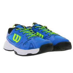 Wilson Wilson Rush Pro QL Tennis-Schuhe coole Kinder Sport-Schuhe Trainings-Schuhe Blau Tennisschuh