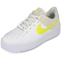Nike Women's Air Force 1 Sage Low white/pure platinum/fossil/lemon venom 40,5