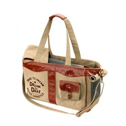 D&D Luxury Bag Dream Tragetasche, 40x20x28cm, raw-sienna