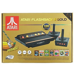 Grundgerät Atari Flashback 8 Gold HD, 2 Joysticks + Kabel