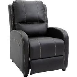 HOMCOM Fernsehsessel mit Liegefunktion 70 x 93 x 100 cm (BxTxH)   Verstellbarer Liegesessel Relaxsessel TV-Sessel