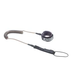 ION SUP TEC Leash coiled black 2021 SUP-Leash Band Leine, Leash Längen: 8'
