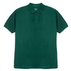Herren-Poloshirt Grün L