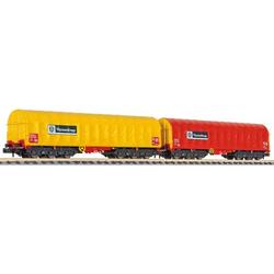 Liliput L260113 N 2er-Set Coiltransportwagen  ThyssenKrupp