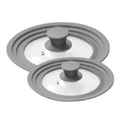 STONELINE Deckel STONELINE®, (Set, 2-tlg), für 6 verschiedene Durchmesser