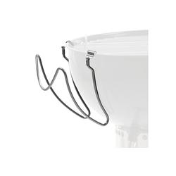BBQ-Toro Grillablagetisch BBQ-Toro Edelstahl Universal Deckelhalter für Kugelgrill, Grill Deckelhalter