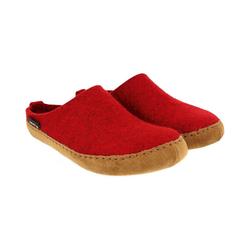 Haflinger Emil`s Toffel Pantoffeln Pantoffel rot 37