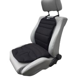 Basic light Autositzauflage, Stoff: black air