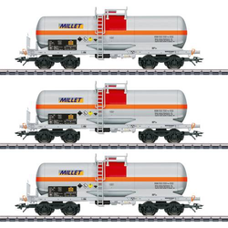 Märklin 46471 H0 Kesselwagen-Set der Firma Millet