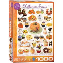 empireposter Puzzle Süsse Halloween Naschereien - 1000 Teile Puzzle im Format 68x48 cm, Puzzleteile