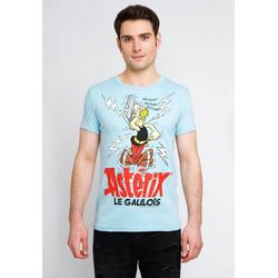 LOGOSHIRT T-Shirt mit Asterix-Print Asterix Magic Poison blau M