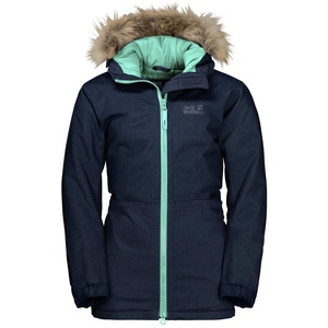 Jack Wolfskin Kinder BANDAI JACKET KIDS wasserdichte Winterjacke, Midnight Blue, 92