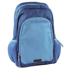 DONAU Kindergartenrucksack   Kunstfaser blau