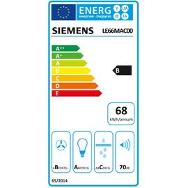 Siemens LE66MAC00 Zwischenbauhaube 60cm