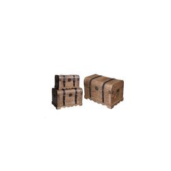 HTI-Living Aufbewahrungsbox Truhe 3-tlg. Truhe 3-tlg. (3 Stück), Truhe
