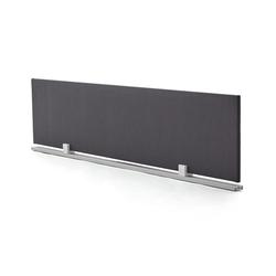 Schreibtisch-Trennwand grau, 38.5x180x2 cm