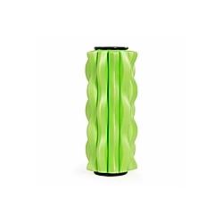 Mini Faszienrolle WAVE, grün/schwarz