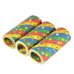 PAPSTAR Luftschlangen Confetti bunt 3 St.