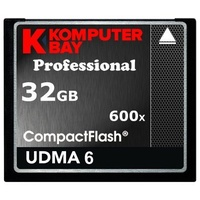 Komputerbay 32GB COMPACT FLASH CARD Professionelle CF 600 X 90MB/s Extreme Speed ​​UDMA 6 RAW 32 GB