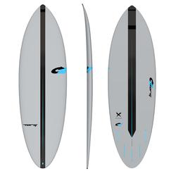 Torq ACT Prepreg Multiplier Grau Surfboard Wellenreiter, Größe: 6'0''