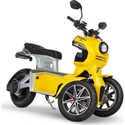Doohan eGo2 Dreirad Elektroroller 1560W - 45km/h, gelb