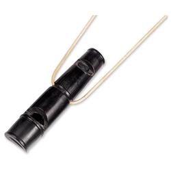 Nobby Büffelhornpfeife, zwei-Ton, Maße: 9 cm