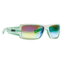 ION Icon Set_Zeiss white/trans green Sportbrille Sonnenbrille