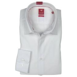 Pure Hemd PURE Hemd Slim fit Stretch, weiß 3355-144-900 langarm M