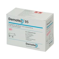Demotec »95« 2x Klötze zur Klauenpflege · 2x70g