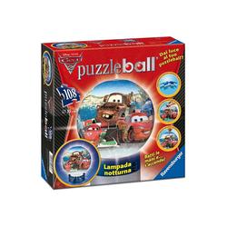 Ravensburger Puzzle Ravensburger - 3D Puzzle Ball Disney Cars 2 (inkl., 108 Puzzleteile