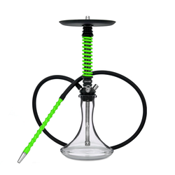 Mamay Customs Coilover Mini Black-Green Shisha