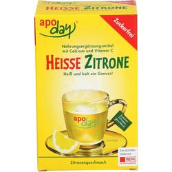 APODAY heiße Zitrone Vit.C u.Calcium zuckerfr.Plv. 100 g