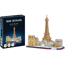 Revell® 3D-Puzzle Paris Skyline, 114 Puzzleteile